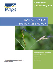 Take Action for Sustainable Huron cover page