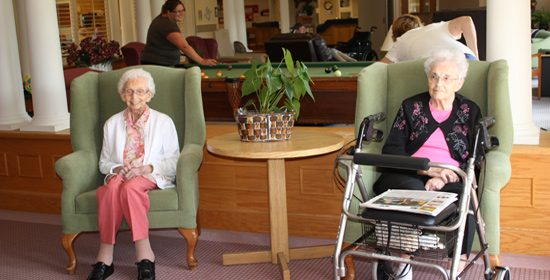 Residents in Lounge