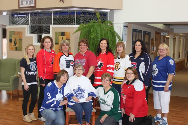 Huronview - Jersey Day