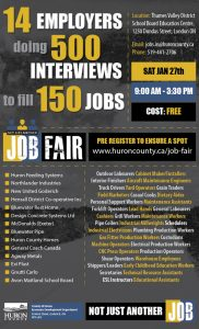 We have 14 employers hiring over 150 jobs