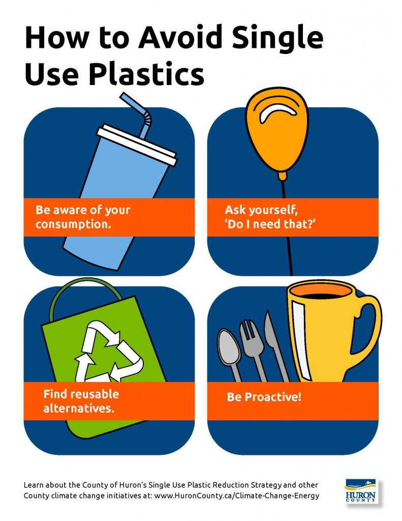 Tips to avoid single-use plastics
